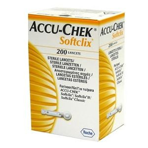 Image for Accu-Chek Softclix 200 Sterile Lancets