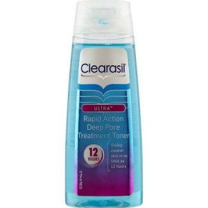 Clearasil Ultra Rapid Action Deep Pore Treatment Toner - Pack of 150ml