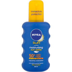 Nivea Sun Moisturising Sun Spray spf 50 Very High - Pack of 200ml