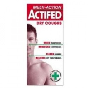 Image for Actifed Multi-Action Dry Cough 100ml
