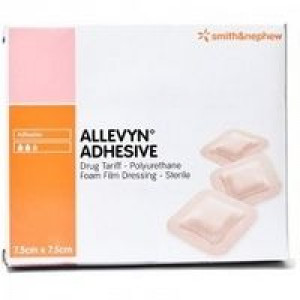 Image for Allevyn Adhesive 7.5cm X 7.5cm Dressing - 1 Dressing
