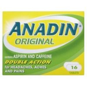 Image for Anadin Original Double Action 16 Tablets