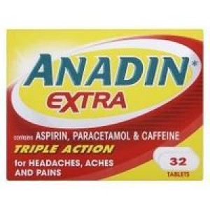 Image for Anadin Extra Triple Action 32 Tablets