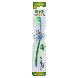 Image for Aquafresh Big Teeth Soft Bristles Toothbrush