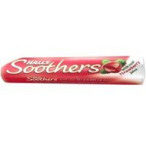Image for Halls Soothers Strawberry