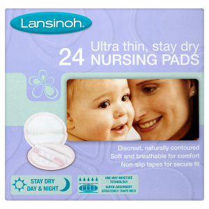 Image for Lansinoh Ultra Thin, Stay Dry 24 Nursing Pads