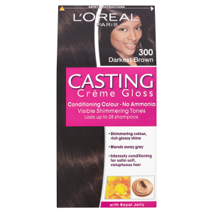 Image for LOreal Paris Casting Crème Gloss Conditioning Colour 300 Darkest Brown