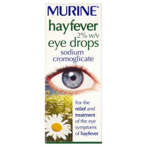 Image for Murine Hayfever 2% w/v Eye Drops 10ml