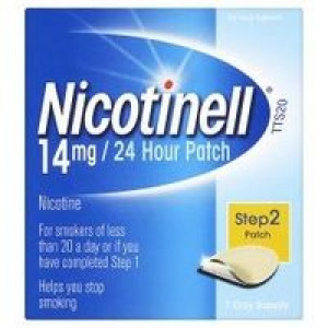 Image for Nicotinell 14mg/24 Hour Patch Step 2 Patch 7 Day Supply