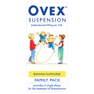 Image for Ovex Suspension Banana Flavoured Family Pack 30ml