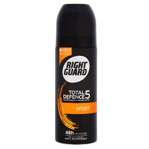 Image for Right Guard Total Defence 5 Sport 48H High-Performance Anti-Perspirant Deodorant 150ml