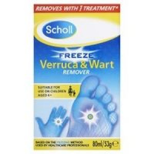 Image for Scholl Freeze Verruca & Wart Remover