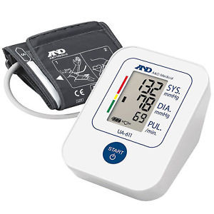Image for A&D Upper Arm Blood Pressure Monitor UA-611