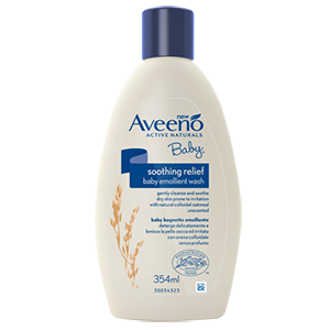 Image for Aveeno Baby Emollient Wash 354ml