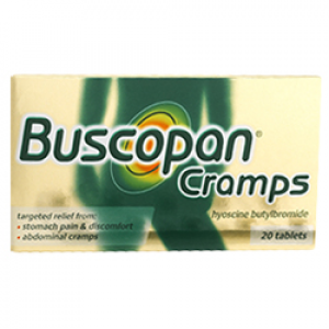 Image for Buscopan Cramps 20 Tablets