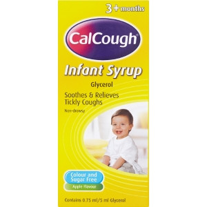 Image for Calcough Infant Syrup - 125ml