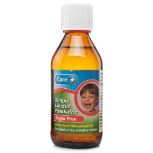 Image for Care Simple Linctus Paediatric Sugar Free - 200ml