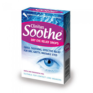 Image for Clinitas Soothe Eye Drops 0.5ml - 30 Unit Doses
