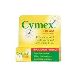 Image for Cymex Cold Sore Cream 5g
