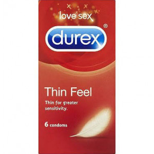 Durex Thin Feel - Pack of 6 Condoms