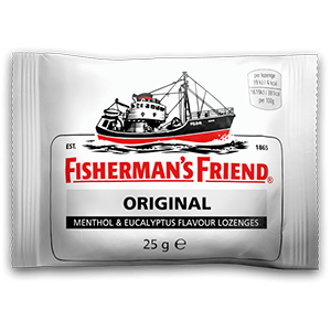 Image for Fisherman's Friend Original Extra Strong Flavour 25g