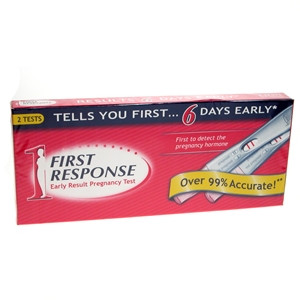 Image for First Response Early Result Pregnancy Test Double Pack