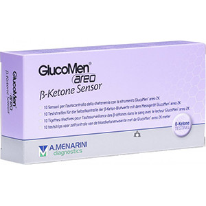 Image for Glucomen Aero Beta Ketone Sensors pack of 10