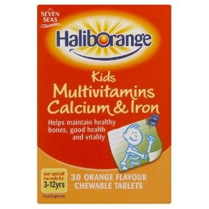 Image for Haliborange Kids Multivitamins Calcium And Iron Orange 30 Tablets