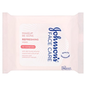 Image for Johnsons Face Care Refreshing Wipes (For Normal Skin) - 25 Wipes