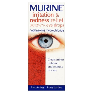 Image for Murine Irritation & Redness Relief Eye Drops Solution 10ml
