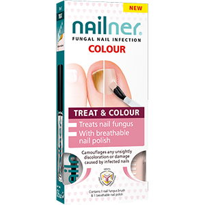 Image for Nailner 2 in 1 Fungal Nail Treatment & Colour