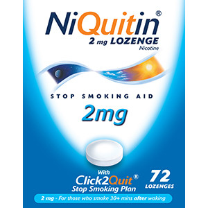 Image for Niquitin CQ 2mg Lozenges - Pack of 72 Lozenges