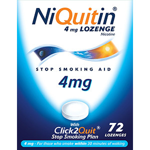 Image for Niquitin CQ 4mg Lozenges - Pack of 72 Lozenges