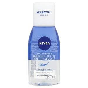 Nivea Daily Essentials Double Effect Eye Makeup Remover - Pack of 125ml