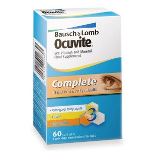 Image for Ocuvite Complete Eye Vitamins & Minerals Capsules Pack of 60