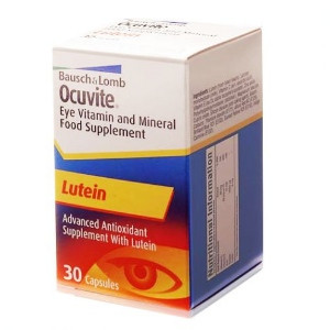 Image for Bausch and Lomb Ocuvite Lutein - 30 Capsules