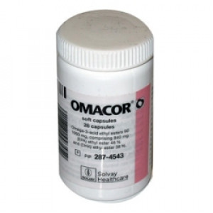 Image for Omacor 1000mg capsules - 100 Capsules