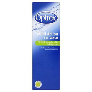 Image for Optrex Multi Action Eye Wash 300ml