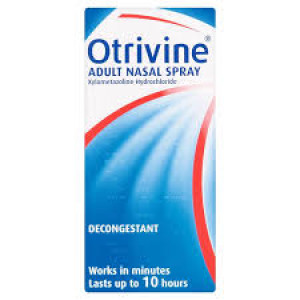Otrivine Adult Nasal Spray Xylometazoline Hydrochloride - Pack of 10ml