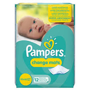 Pampers Changing Mats 12 pack