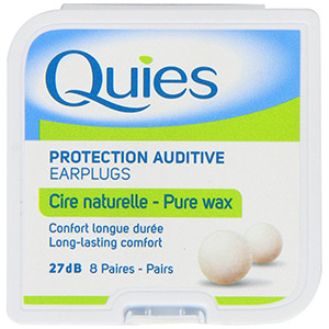 Image for Quies Natural Was Earplugs - 8 pairs
