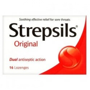 Image for Strepsils Lozenges Original - 16