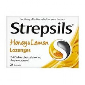 Image for Strepsils Honey And Lemon - 24 Lozenges