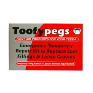 Image for Toofy Pegs Crown & Filling Emergency Kit
