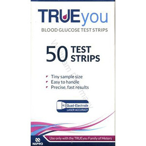 Image for TRUEyou Blood Glucose Test Strips - 50 Strips