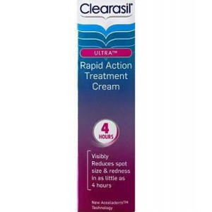 Clearasil Ultra Rapid Action Treatment Cream - Pack of 25ml