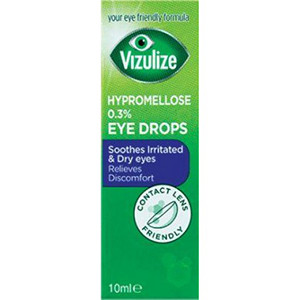 Image for VIzulize Hypromellose 0.3% Eye Drops 10ml