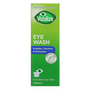 Image for Vizulize Eye Wash 100ml