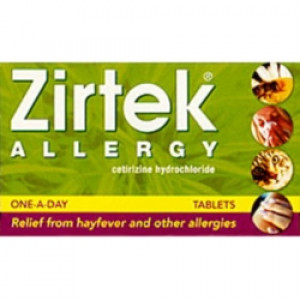 Image for Zirtek Allergy Tablets 21
