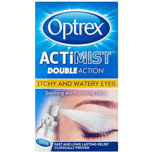 Optrex ActiMist 2in1 Eye Spray for Itchy + Watery Eyes 10ml